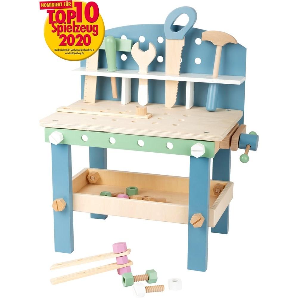 Petit établi en bois pour enfant