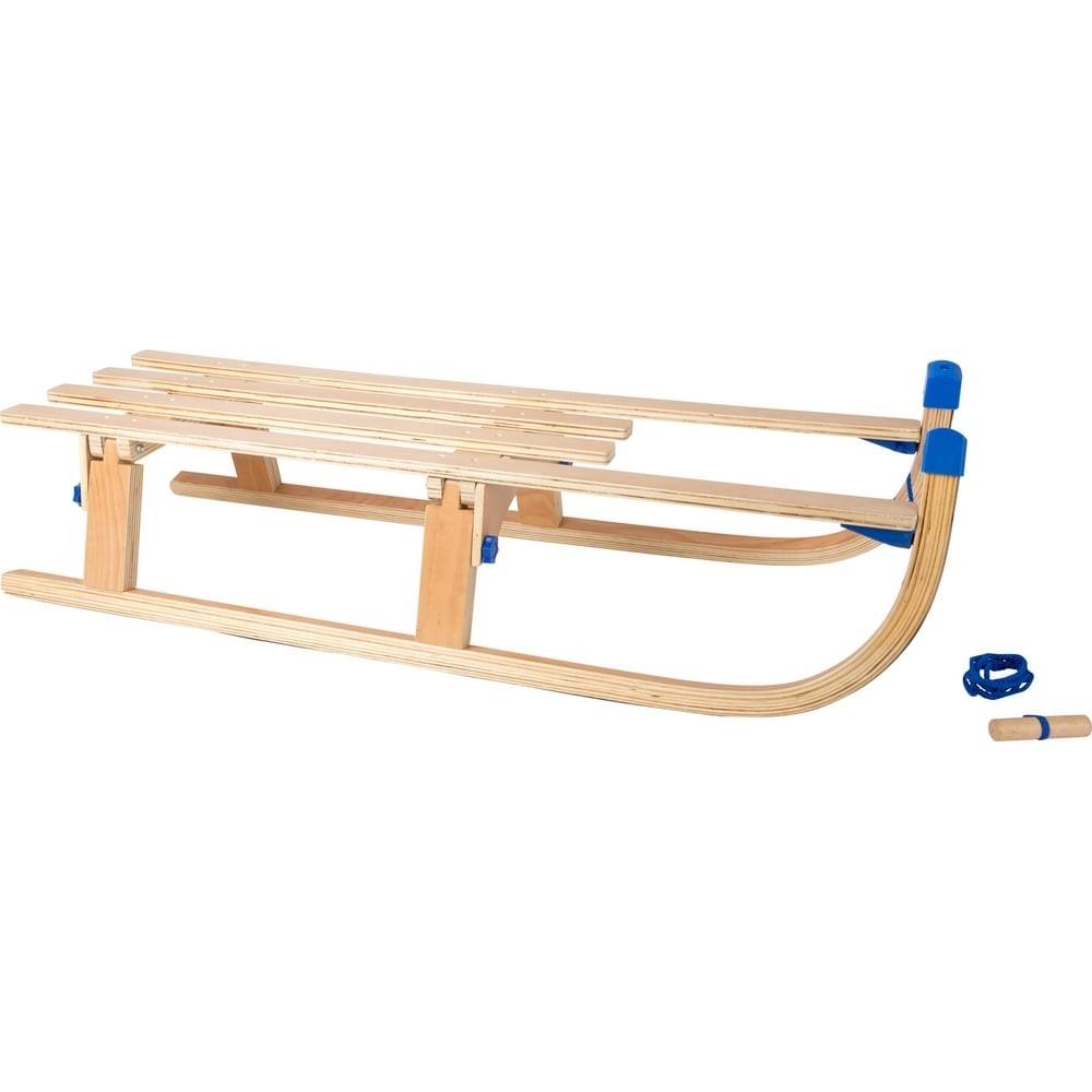 Luge pliable 109 cm en bois