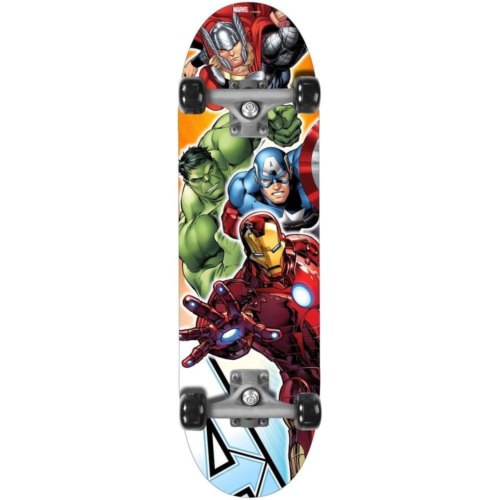 Skateboard Avengers en bois