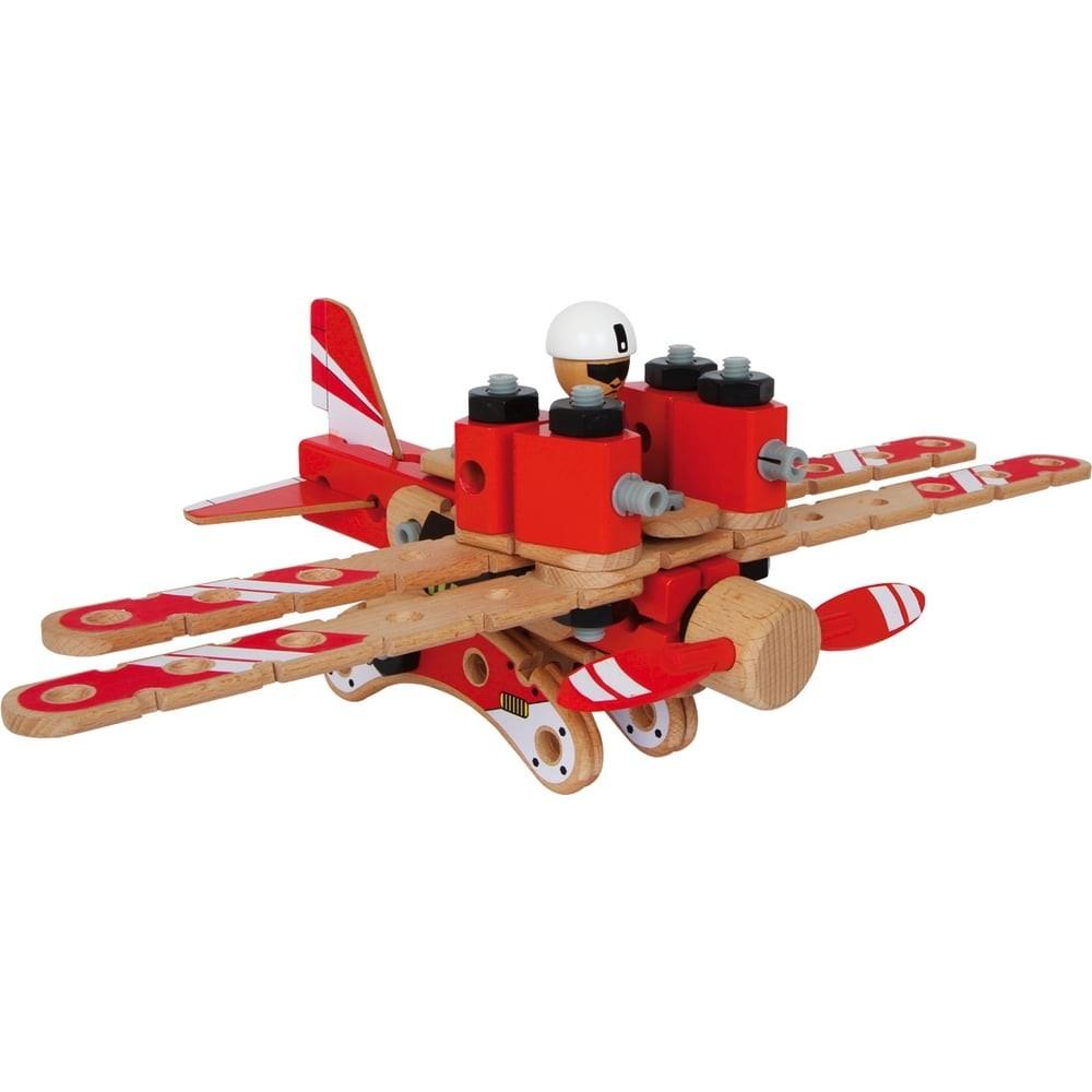 Jeu de construction en bois - Aviation
