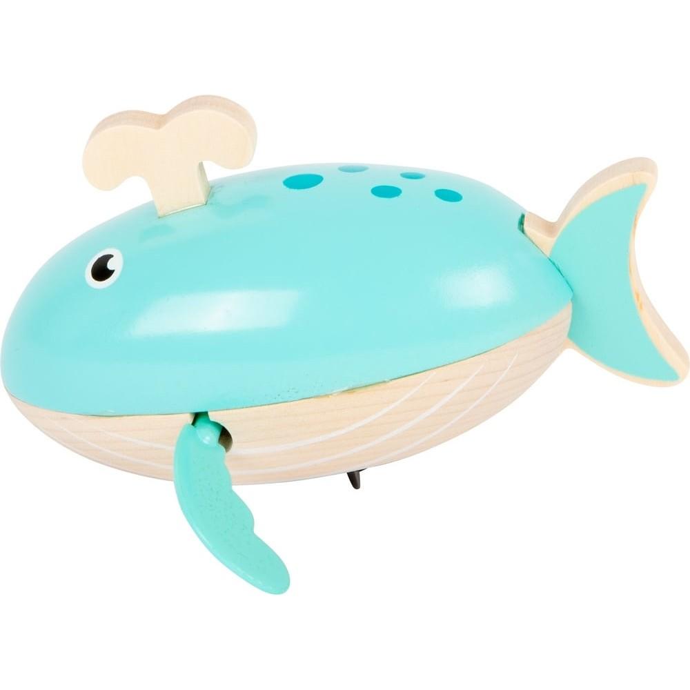 Jeu d'eau en bois - Baleine