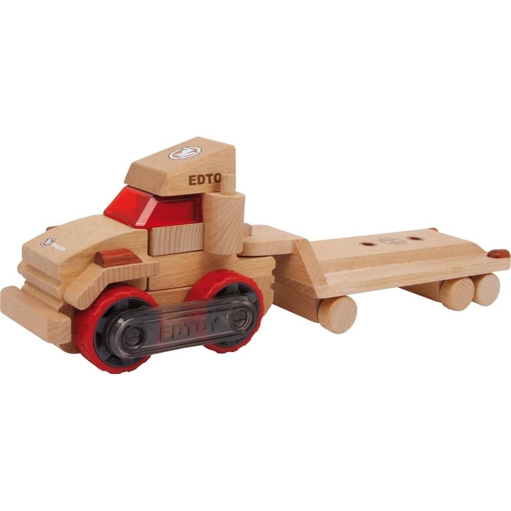 Camion plateau transformable en bois
