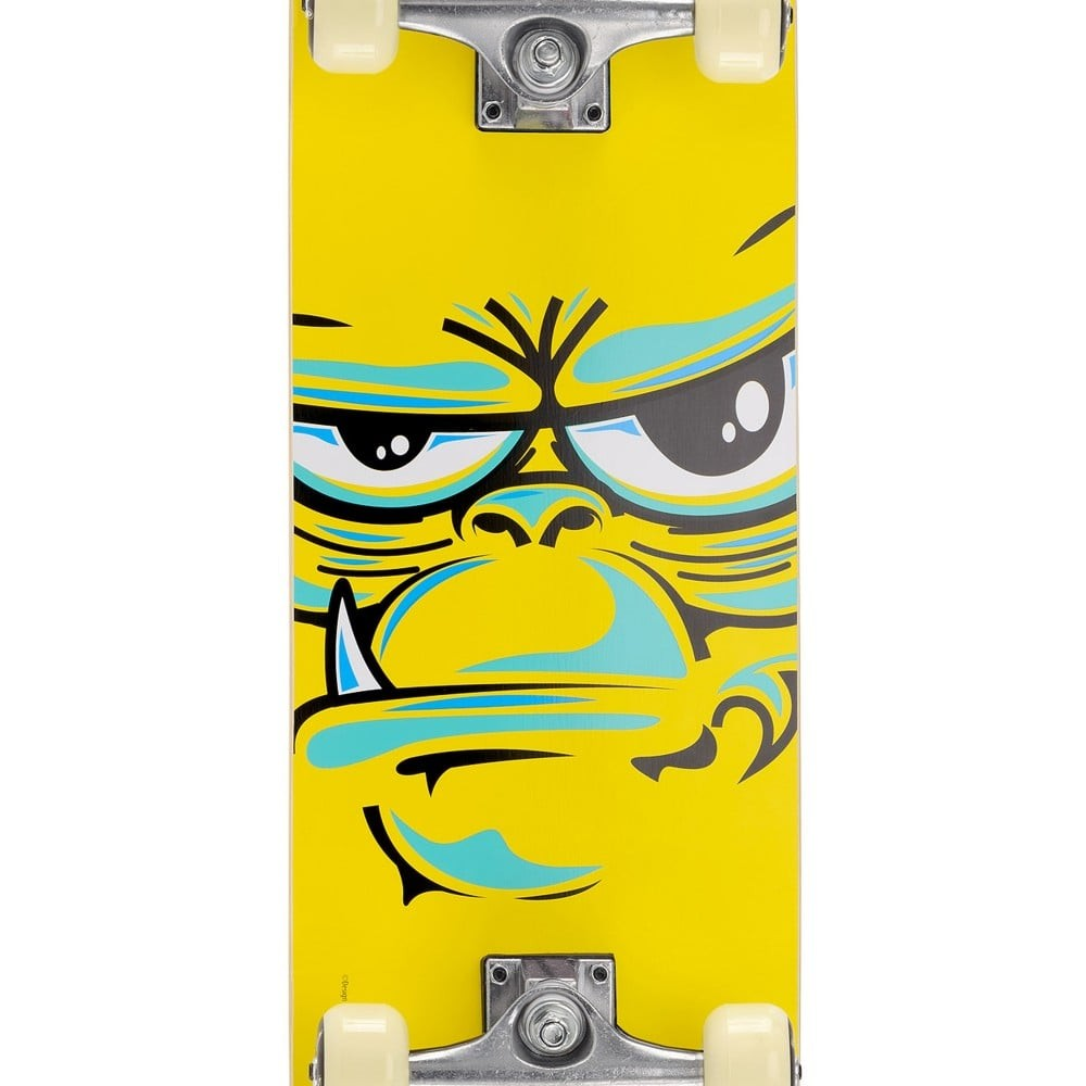 Skateboard Be cool 79 cm en bois jaune
