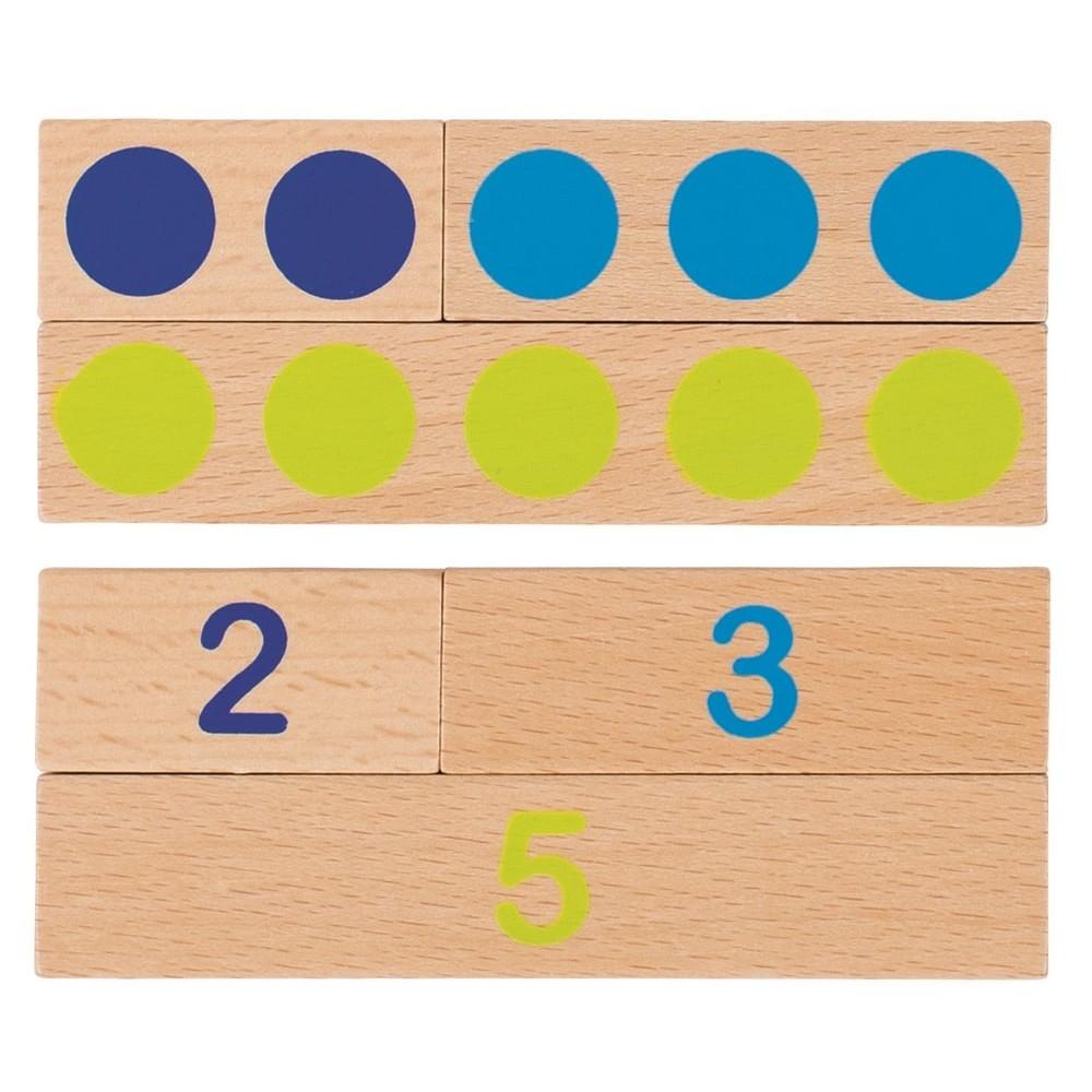 Jeu de calcul Montessori en bois
