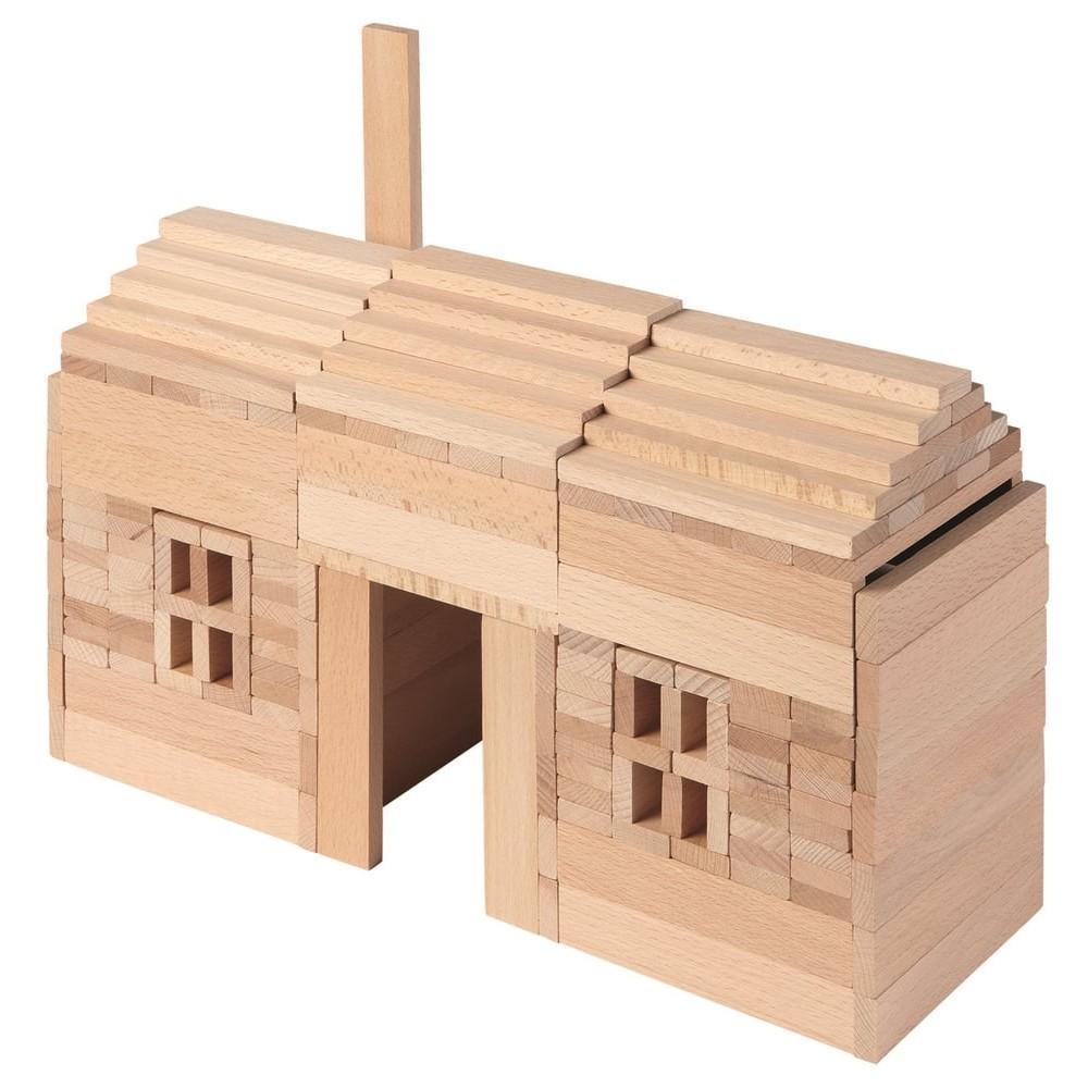 Planchettes de construction en bois
