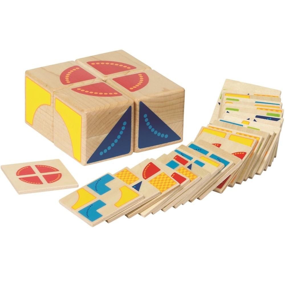 Puzzle Cubic en bois