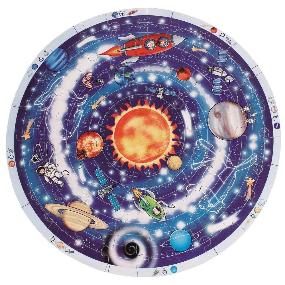 Puzzle en bois - Astronomie