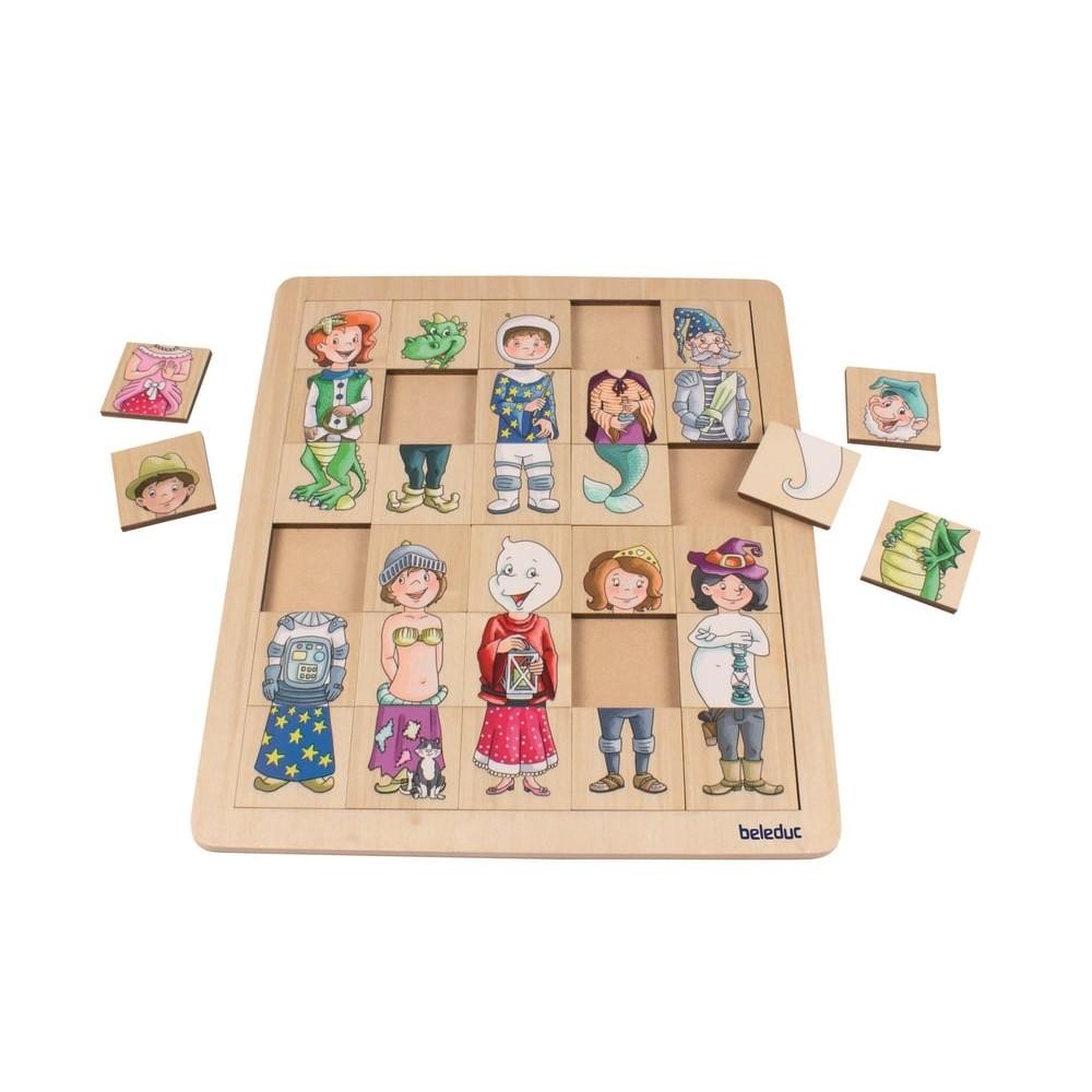 Puzzle en bois - Méli-mélo