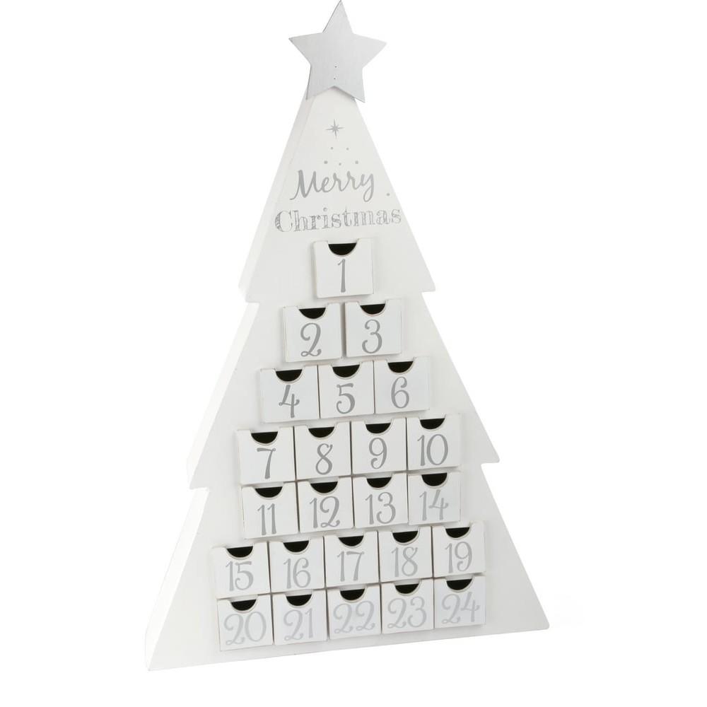 Calendrier de l'Avent en bois - Joyeux Noël