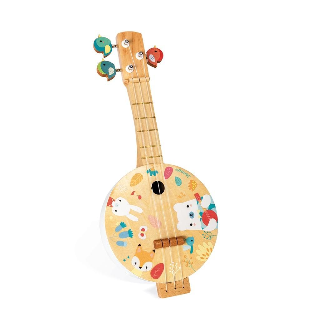 Banjo Pure en bois pour enfant