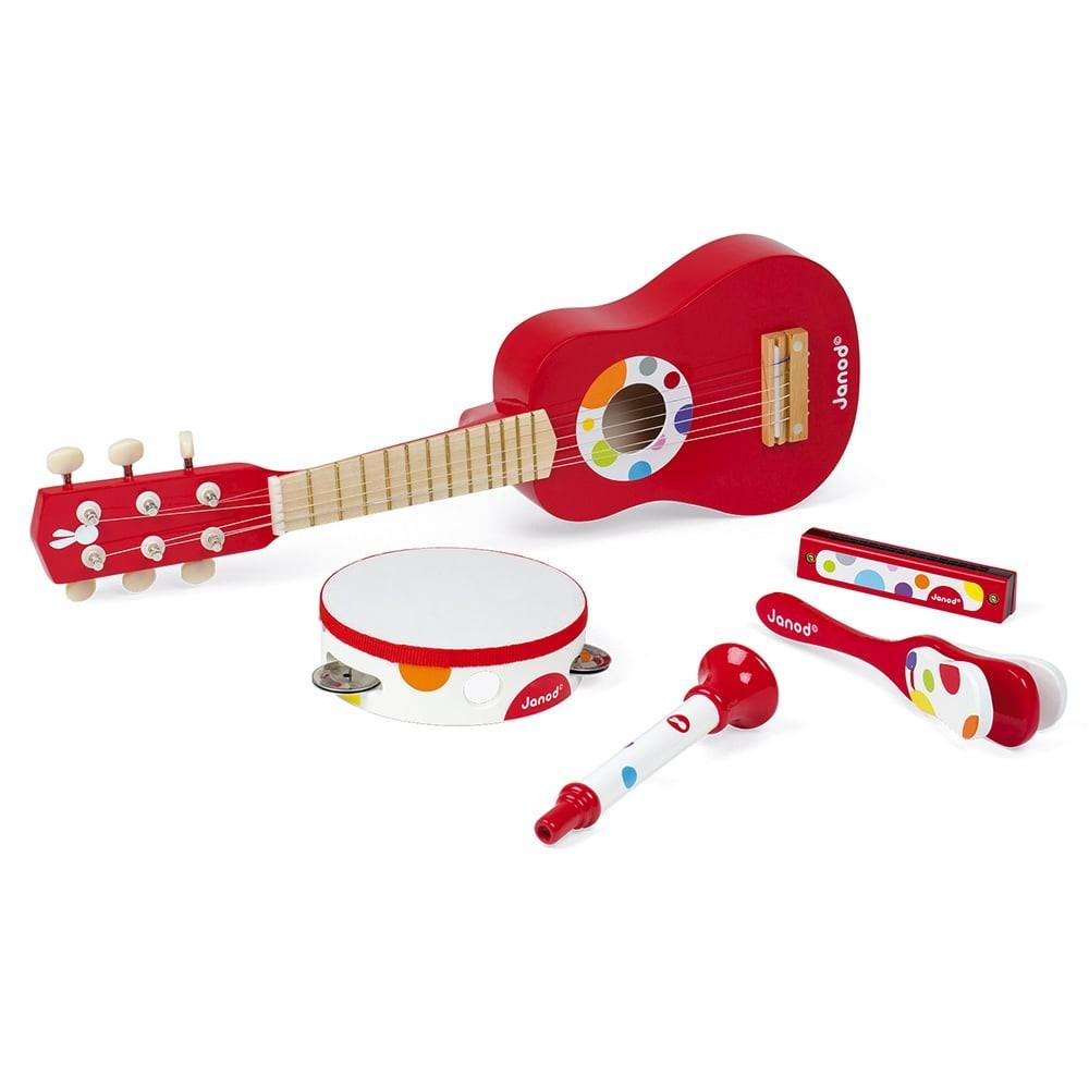 Set musical confetti en bois - Live Music