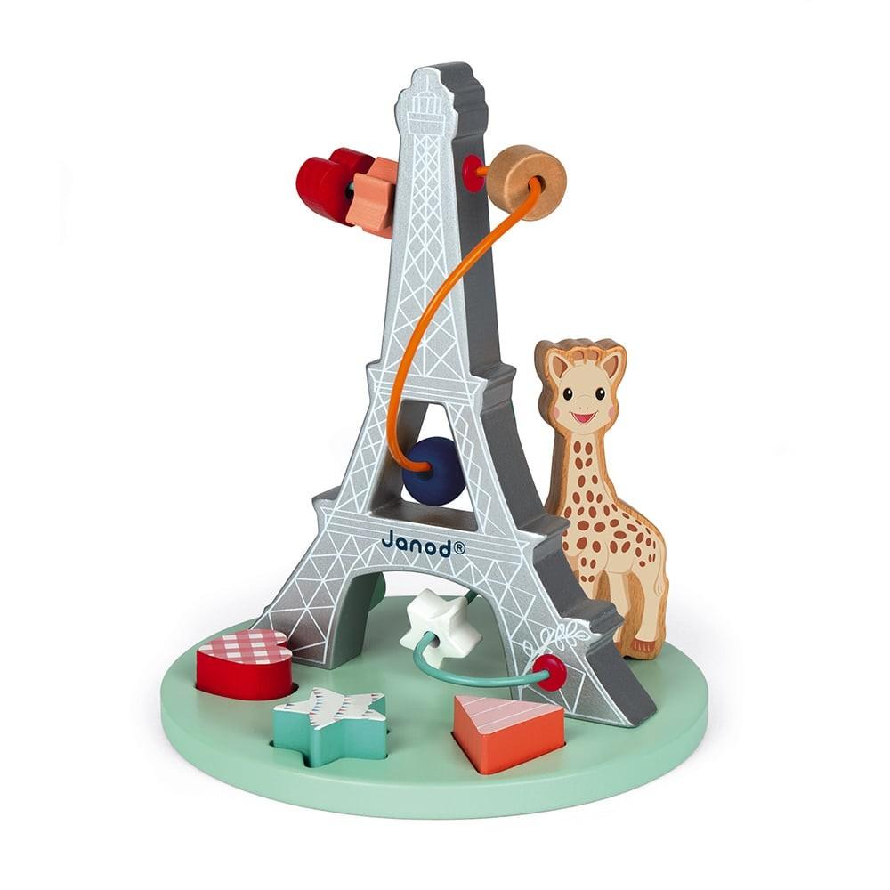 Looping Sophie la girafe en bois