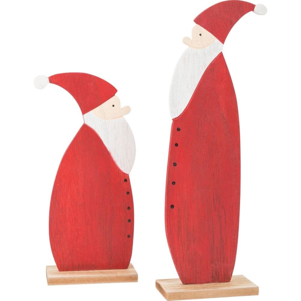 Déco Père Noël en bois