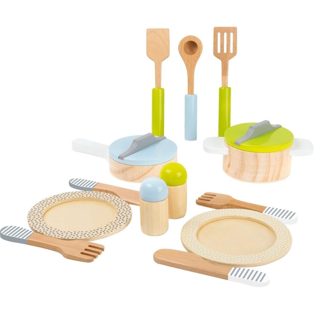 Dinette en bois - A table !
