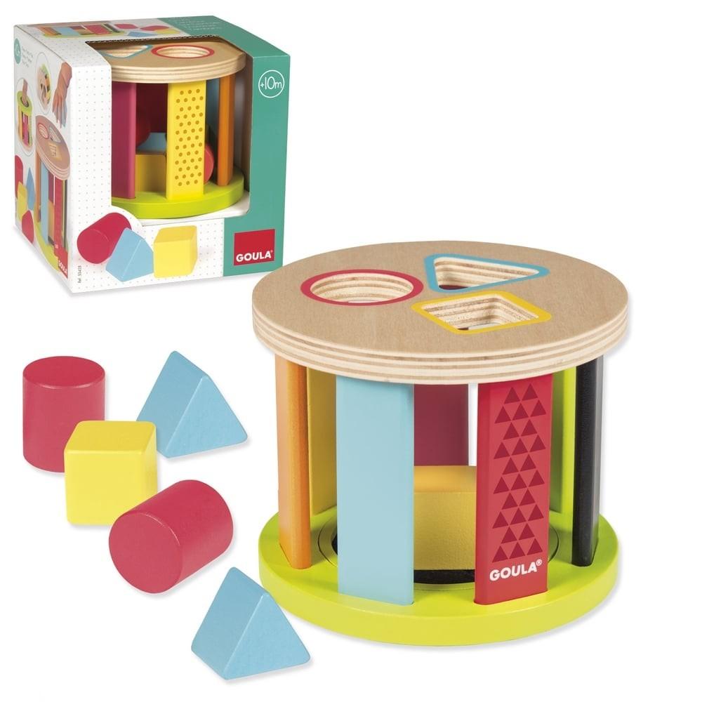 Boîte à formes pour bébé - Tambour
