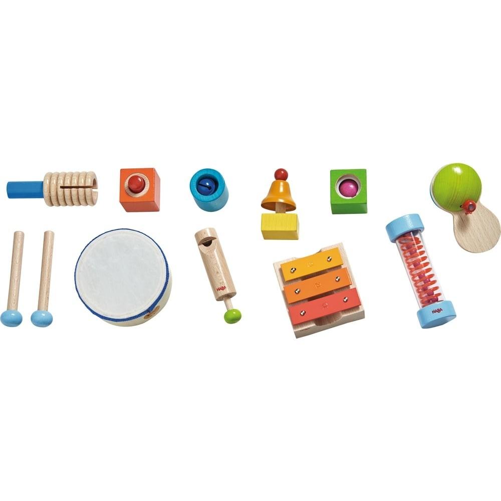 Set d'instruments de musique en bois