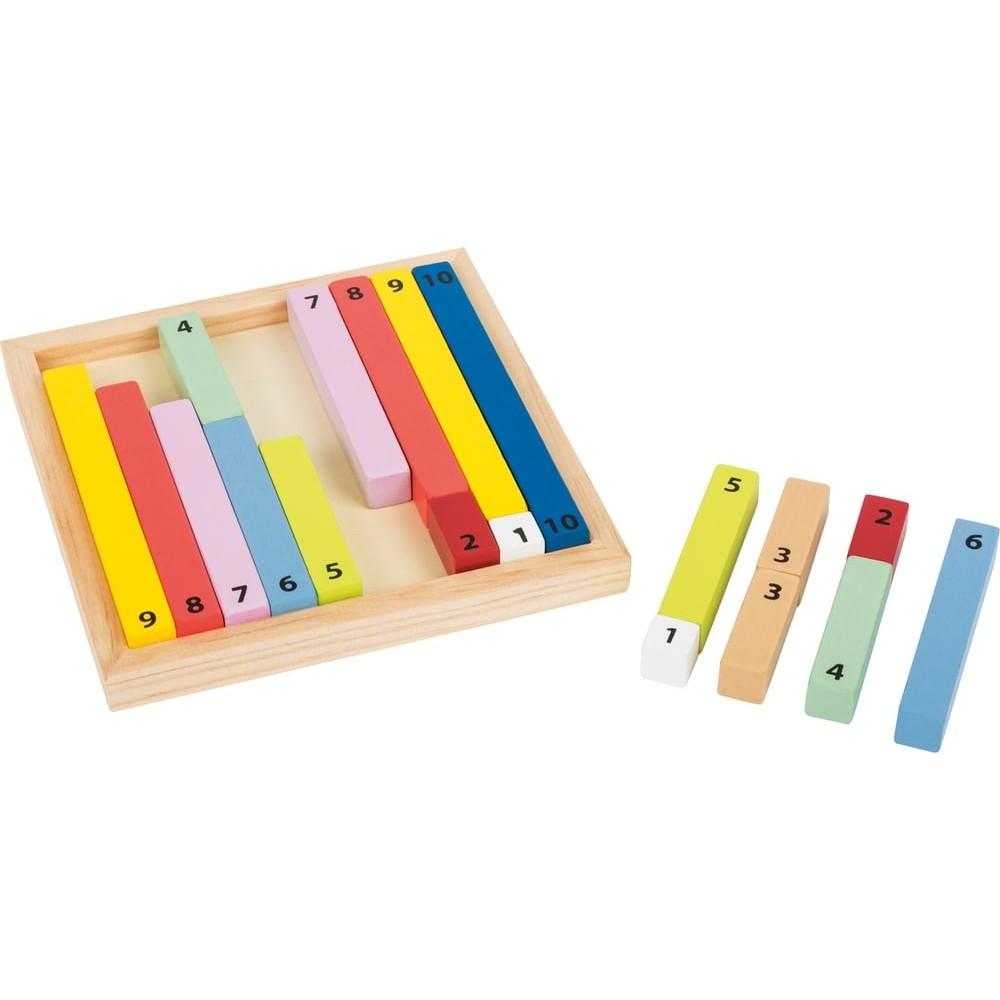 Jeu éducatif - Bâtons de calcul en bois