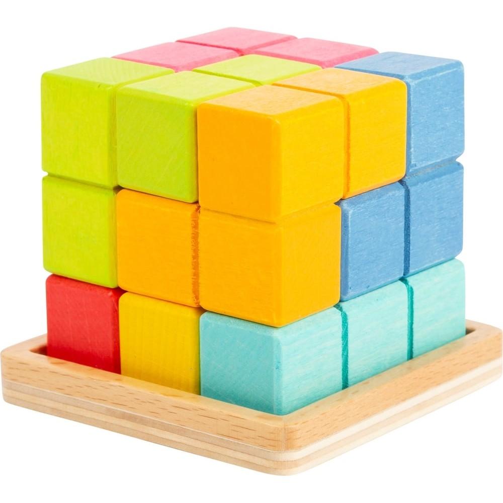 Puzzle en bois - Cube Tetris 3D