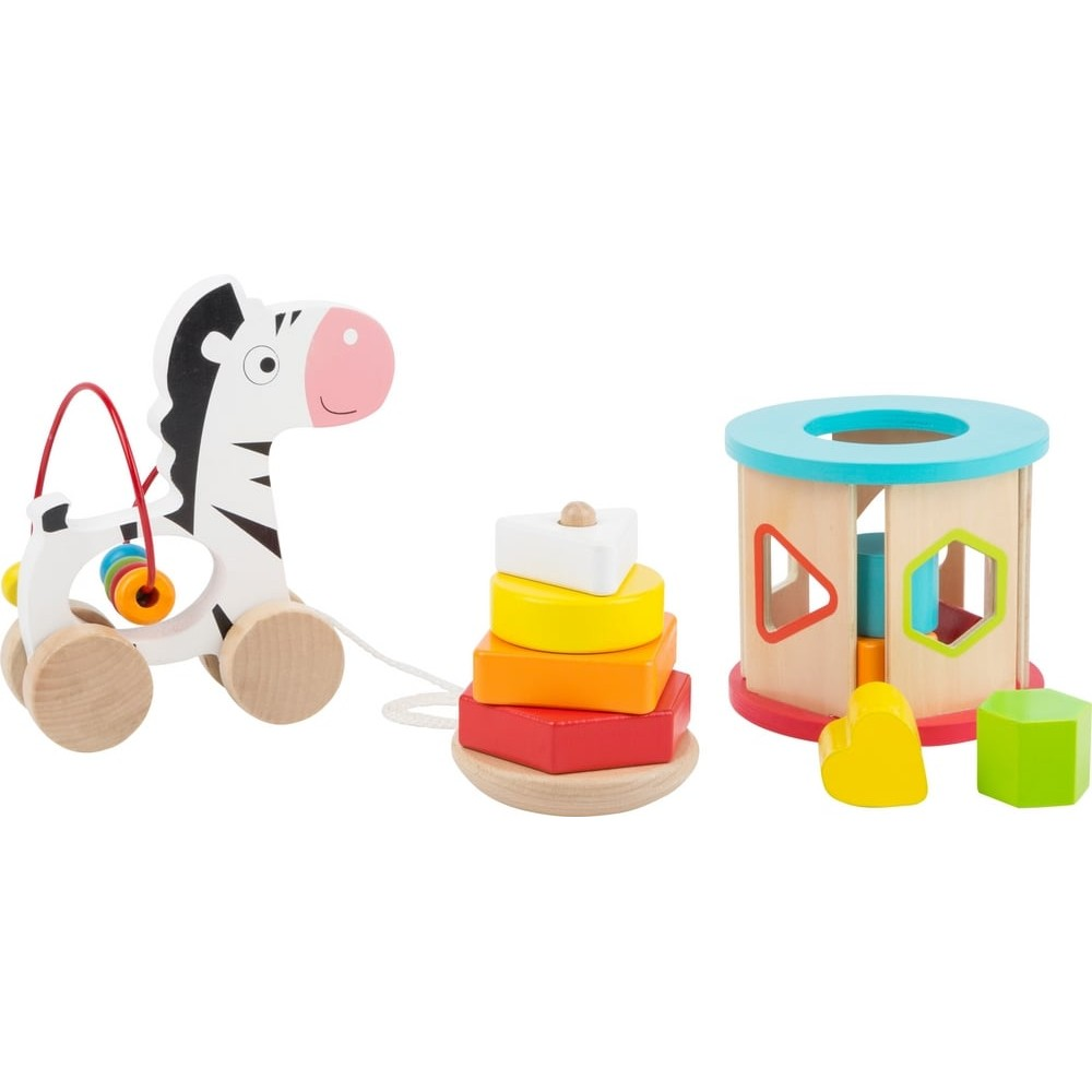 Set de jouets de motricité en bois pour bébé