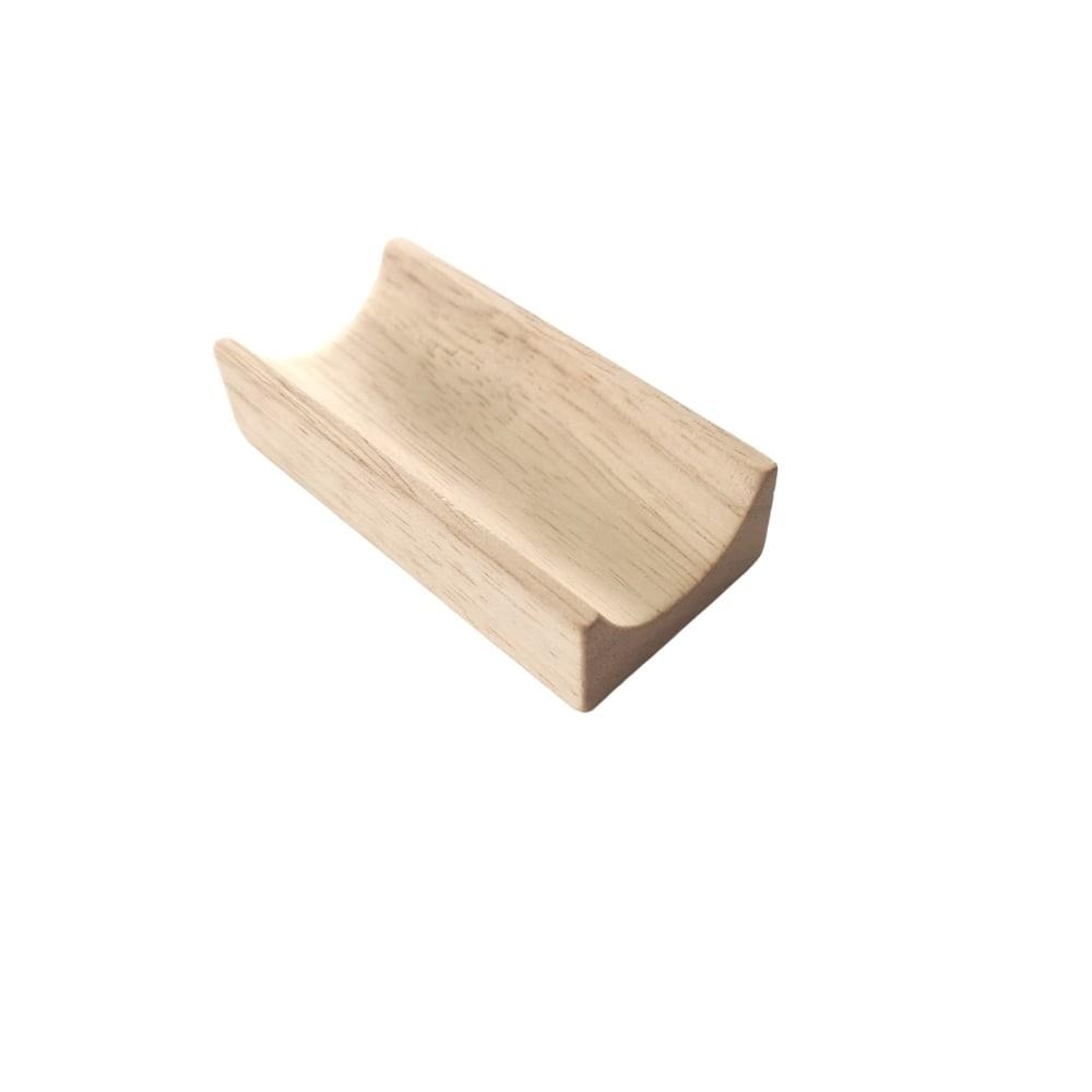 Piste 8 cm en bois pour circuit à billes
