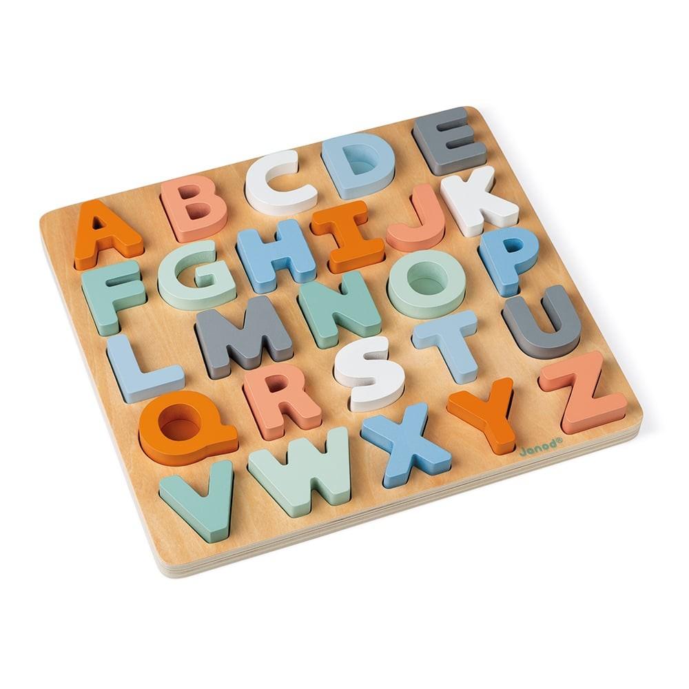Puzzle Alphabet en bois - Sweet cocoon