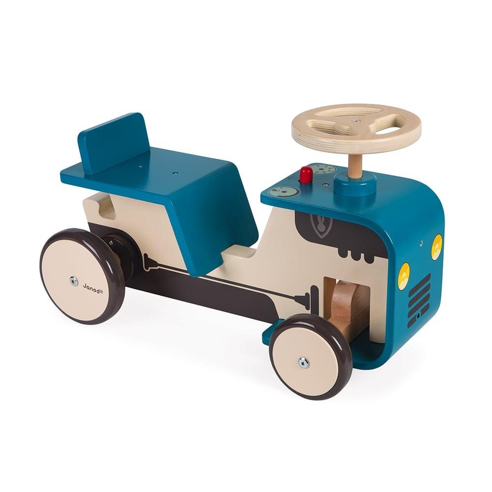 Porteur en bois - Tracteur